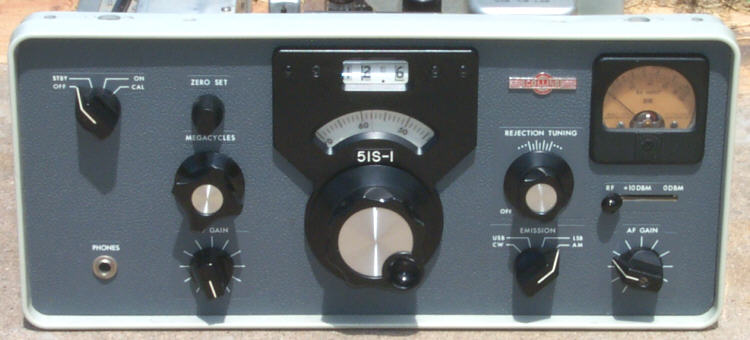 Front of 51S-1 Receiver