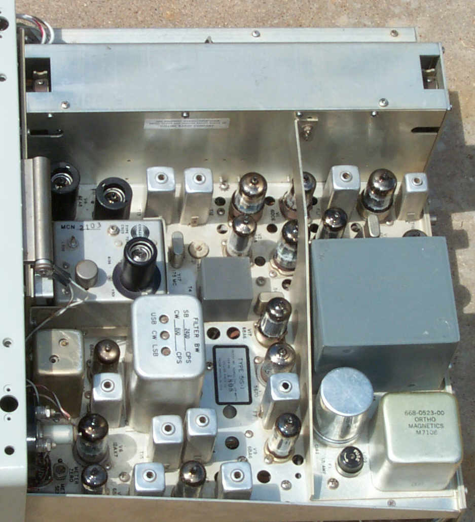 Top Inside of 51S-1 Receiver