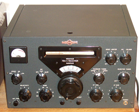 Front of 75A-4 Transmitter