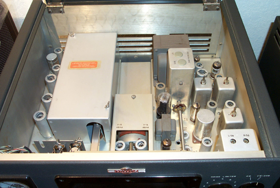 Inside top of 75A-4 Receiver