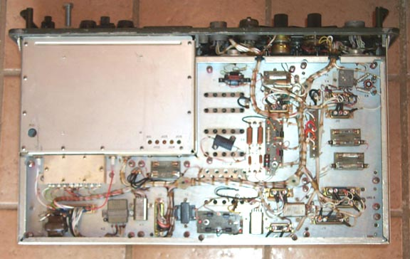 Bottom Inside of AN/PRC-47 Transmitter