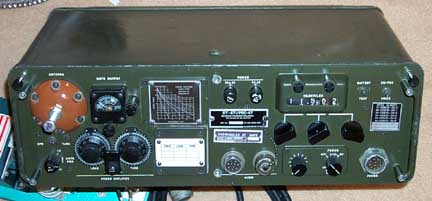 Front of AN/PRC-47 Transmitter