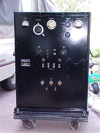 BC-610 transmitter front panel
