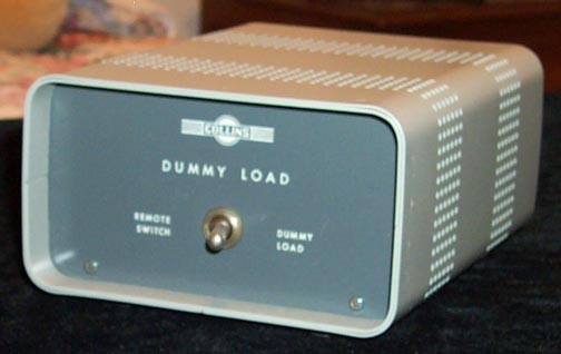 Front of DL-1 Dummy Load