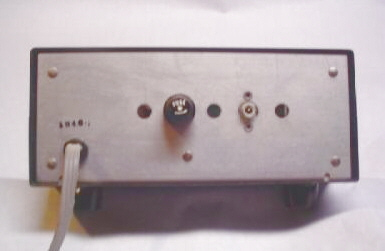 Back view of FS-4 frequency synthesizer