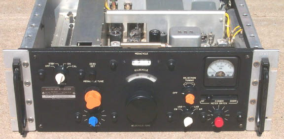 Front of G133H receiver