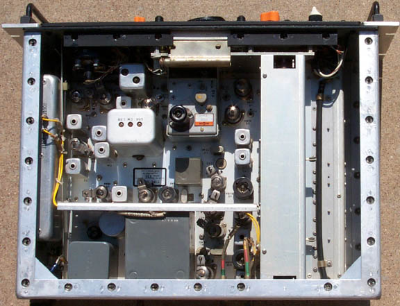 Inside view of G133H receiver
