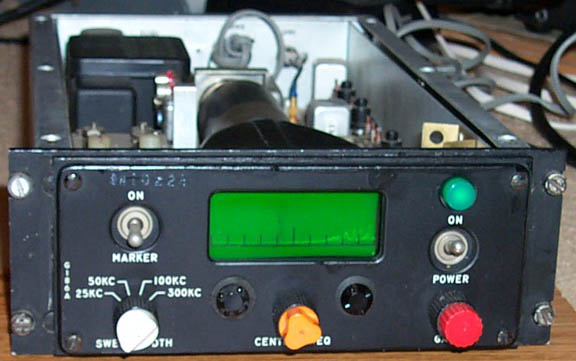 Front of G-186A Spectrum Display