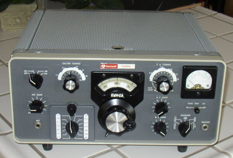 Front of KWM-2A Transceiver