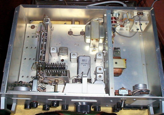 Inside view of RR-1 Marine Receiver