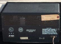 Back of the S-38B Receiver