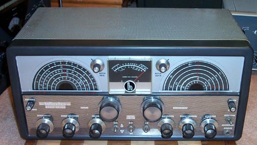 Front view of SX-100 Mark 1A Receiver
