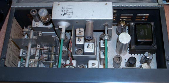 Inside View of SX-100 Mark 1A Reciever