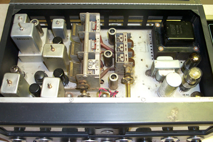 Picture of Inside of SX-71 Receiver